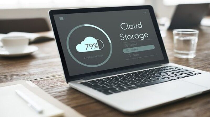 Cloud storage laptop